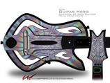 Tie Dye Swirl 103 Decal Style Skin - fits Warriors Of Rock Guitar Hero Guitar (GUITAR NOT INCLUDED)