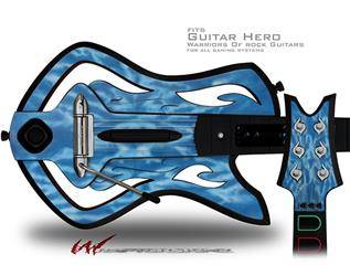 Tie Dye Spine 103 Decal Style Skin - fits Warriors Of Rock Guitar Hero Guitar (GUITAR NOT INCLUDED)