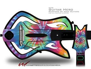 Tie Dye Swirl 104 Decal Style Skin - fits Warriors Of Rock Guitar Hero Guitar (GUITAR NOT INCLUDED)
