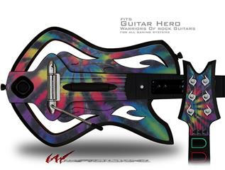 Tie Dye Swirl 105 Decal Style Skin - fits Warriors Of Rock Guitar Hero Guitar (GUITAR NOT INCLUDED)
