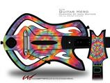 Tie Dye Swirl 107 Decal Style Skin - fits Warriors Of Rock Guitar Hero Guitar (GUITAR NOT INCLUDED)