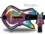 Tie Dye Swirl 108 Decal Style Skin - fits Warriors Of Rock Guitar Hero Guitar (GUITAR NOT INCLUDED)