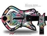 Tie Dye Swirl 109 Decal Style Skin - fits Warriors Of Rock Guitar Hero Guitar (GUITAR NOT INCLUDED)