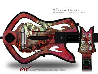 Sirocco Decal Style Skin - fits Warriors Of Rock Guitar Hero Guitar (GUITAR NOT INCLUDED)