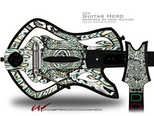 5-Methyl-Ester Decal Style Skin - fits Warriors Of Rock Guitar Hero Guitar (GUITAR NOT INCLUDED)