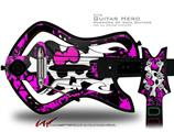 Punk Skull Princess Decal Style Skin - fits Warriors Of Rock Guitar Hero Guitar (GUITAR NOT INCLUDED)