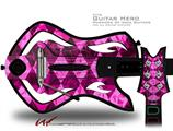 Pink Diamond Decal Style Skin - fits Warriors Of Rock Guitar Hero Guitar (GUITAR NOT INCLUDED)