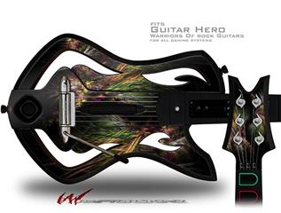 Allusion Decal Style Skin - fits Warriors Of Rock Guitar Hero Guitar (GUITAR NOT INCLUDED)