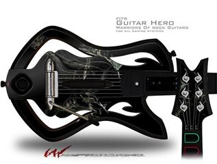 At Night Decal Style Skin - fits Warriors Of Rock Guitar Hero Guitar (GUITAR NOT INCLUDED)