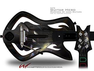 Bang Decal Style Skin - fits Warriors Of Rock Guitar Hero Guitar (GUITAR NOT INCLUDED)