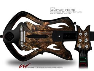 Bear Decal Style Skin - fits Warriors Of Rock Guitar Hero Guitar (GUITAR NOT INCLUDED)