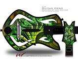 Broccoli Decal Style Skin - fits Warriors Of Rock Guitar Hero Guitar (GUITAR NOT INCLUDED)