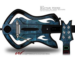 Brittle Decal Style Skin - fits Warriors Of Rock Guitar Hero Guitar (GUITAR NOT INCLUDED)