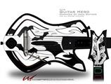 Deathrock Bats Decal Style Skin - fits Warriors Of Rock Guitar Hero Guitar (GUITAR NOT INCLUDED)