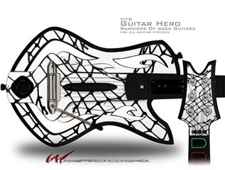Ripped Fishnets Decal Style Skin - fits Warriors Of Rock Guitar Hero Guitar (GUITAR NOT INCLUDED)