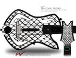 Fishnets Decal Style Skin - fits Warriors Of Rock Guitar Hero Guitar (GUITAR NOT INCLUDED)