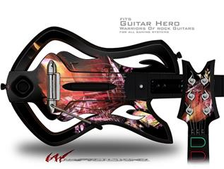 Complexity Decal Style Skin - fits Warriors Of Rock Guitar Hero Guitar (GUITAR NOT INCLUDED)