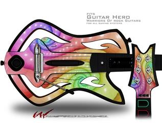 Constipation Decal Style Skin - fits Warriors Of Rock Guitar Hero Guitar (GUITAR NOT INCLUDED)