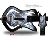 Coral Tesseract Decal Style Skin - fits Warriors Of Rock Guitar Hero Guitar (GUITAR NOT INCLUDED)