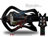 Crystal Tree Decal Style Skin - fits Warriors Of Rock Guitar Hero Guitar (GUITAR NOT INCLUDED)