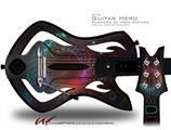 Deep Dive Decal Style Skin - fits Warriors Of Rock Guitar Hero Guitar (GUITAR NOT INCLUDED)