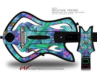 Cell Structure Decal Style Skin - fits Warriors Of Rock Guitar Hero Guitar (GUITAR NOT INCLUDED)