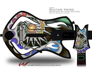 Copernicus Decal Style Skin - fits Warriors Of Rock Guitar Hero Guitar (GUITAR NOT INCLUDED)