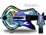 Discharge Decal Style Skin - fits Warriors Of Rock Guitar Hero Guitar (GUITAR NOT INCLUDED)