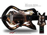 Enter Here Decal Style Skin - fits Warriors Of Rock Guitar Hero Guitar (GUITAR NOT INCLUDED)