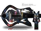 Darkness Stirs Decal Style Skin - fits Warriors Of Rock Guitar Hero Guitar (GUITAR NOT INCLUDED)
