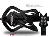 Dark Mesh Decal Style Skin - fits Warriors Of Rock Guitar Hero Guitar (GUITAR NOT INCLUDED)