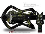Coral Decal Style Skin - fits Warriors Of Rock Guitar Hero Guitar (GUITAR NOT INCLUDED)