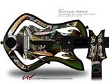 Dimensions Decal Style Skin - fits Warriors Of Rock Guitar Hero Guitar (GUITAR NOT INCLUDED)
