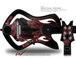 Coral2 Decal Style Skin - fits Warriors Of Rock Guitar Hero Guitar (GUITAR NOT INCLUDED)