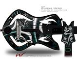 Cs2 Decal Style Skin - fits Warriors Of Rock Guitar Hero Guitar (GUITAR NOT INCLUDED)