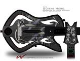 Cs4 Decal Style Skin - fits Warriors Of Rock Guitar Hero Guitar (GUITAR NOT INCLUDED)