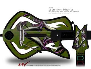 Cs3 Decal Style Skin - fits Warriors Of Rock Guitar Hero Guitar (GUITAR NOT INCLUDED)