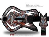 Diamonds Decal Style Skin - fits Warriors Of Rock Guitar Hero Guitar (GUITAR NOT INCLUDED)