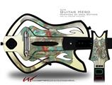 Diver Decal Style Skin - fits Warriors Of Rock Guitar Hero Guitar (GUITAR NOT INCLUDED)