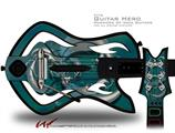 Dragon1 Decal Style Skin - fits Warriors Of Rock Guitar Hero Guitar (GUITAR NOT INCLUDED)