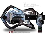 Dusty Decal Style Skin - fits Warriors Of Rock Guitar Hero Guitar (GUITAR NOT INCLUDED)
