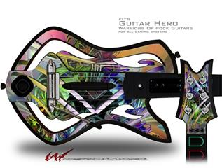 Atomic Love Decal Style Skin - fits Warriors Of Rock Guitar Hero Guitar (GUITAR NOT INCLUDED)