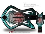 Crystal Decal Style Skin - fits Warriors Of Rock Guitar Hero Guitar (GUITAR NOT INCLUDED)