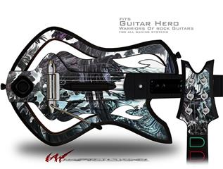 Grotto Decal Style Skin - fits Warriors Of Rock Guitar Hero Guitar (GUITAR NOT INCLUDED)