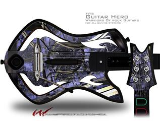 Gyro Lattice Decal Style Skin - fits Warriors Of Rock Guitar Hero Guitar (GUITAR NOT INCLUDED)
