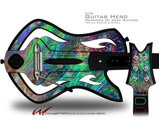 Kelp Forest Decal Style Skin - fits Warriors Of Rock Guitar Hero Guitar (GUITAR NOT INCLUDED)