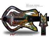 Organic 2 Decal Style Skin - fits Warriors Of Rock Guitar Hero Guitar (GUITAR NOT INCLUDED)