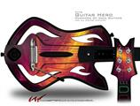 Eruption Decal Style Skin - fits Warriors Of Rock Guitar Hero Guitar (GUITAR NOT INCLUDED)