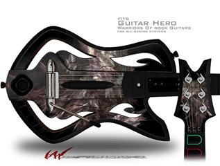 Fluff Decal Style Skin - fits Warriors Of Rock Guitar Hero Guitar (GUITAR NOT INCLUDED)