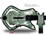 Foam Decal Style Skin - fits Warriors Of Rock Guitar Hero Guitar (GUITAR NOT INCLUDED)